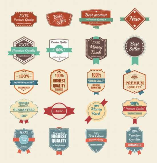 100_free_vector_vintage_badges_stickers_&_stamps_screenshot