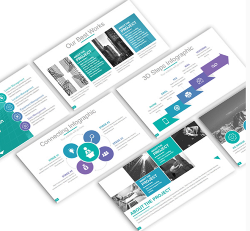 B Business keynote template