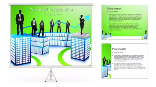 Business Colleagues PowerPoint Template