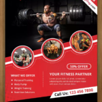 10 Free Gym & BodyBuilding Flyer / Poster Templates