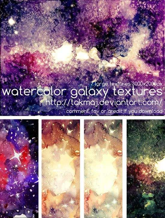 watercolor_galaxy_textures_image