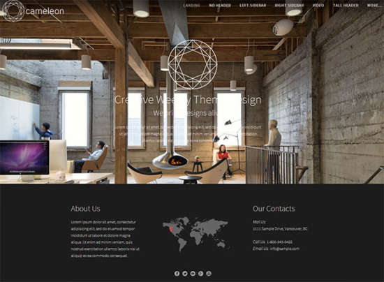 23 georgeous  u0026 free weebly themes