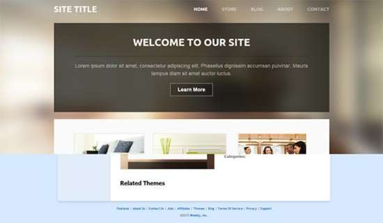 lucent_weebly_template