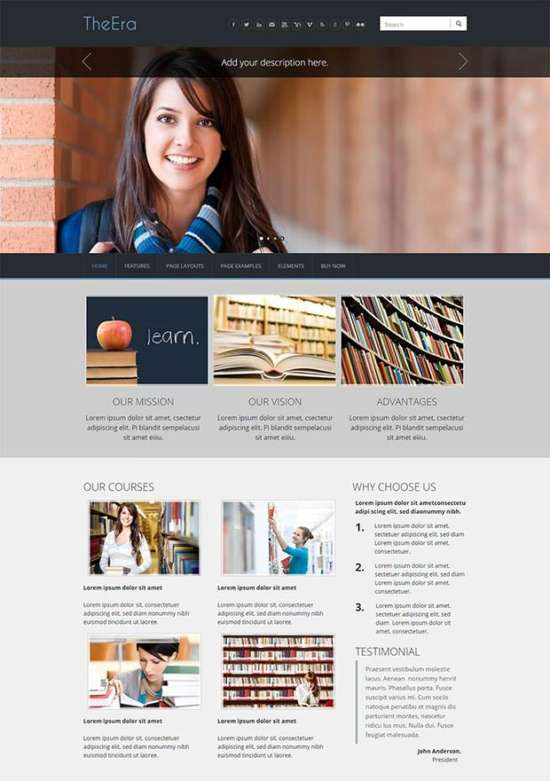 23 georgeous free weebly themes ginva