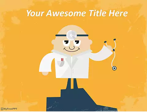 Free Doctor PowerPoint Template