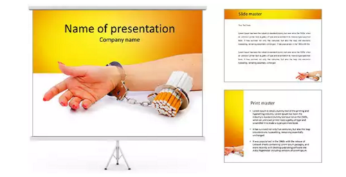 Smoking Kills PowerPoint Template