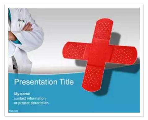 Free Medical Center PowerPoint Template