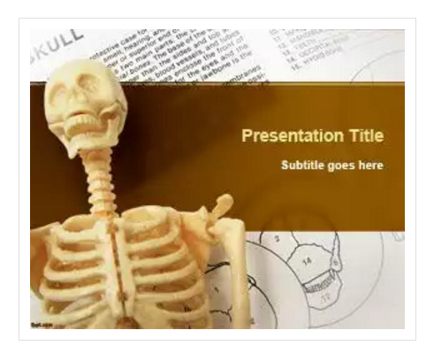 Skeleton PowerPoint Template
