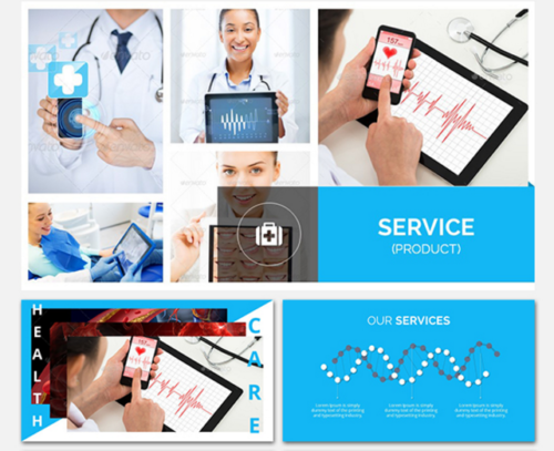 Medical & Healthcare Pitch Deck Template