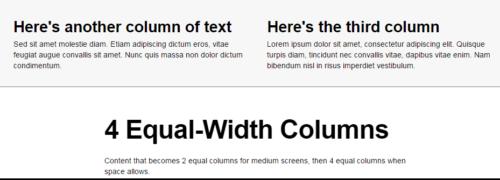 4 Columns