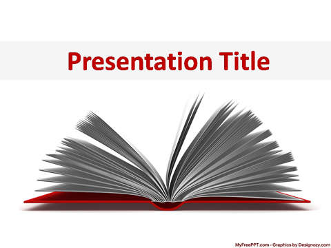 60 free 3d powerpoint templates ginva open book toneelgroepblik Choice Image