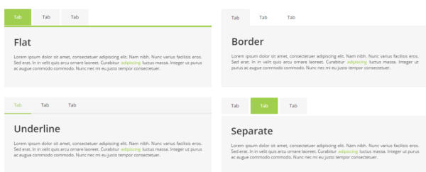 Bootstrap Responsive Tabs