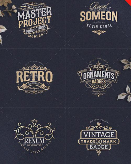 Artsy Vintage Retro Logos