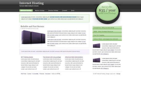 internet hosting
