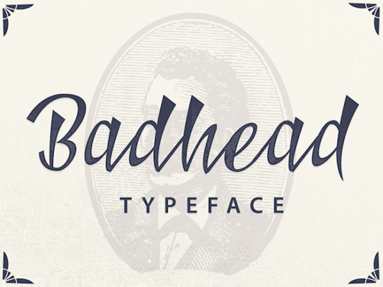 badhead_typeface
