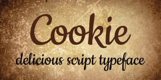 cookie_cursive_font