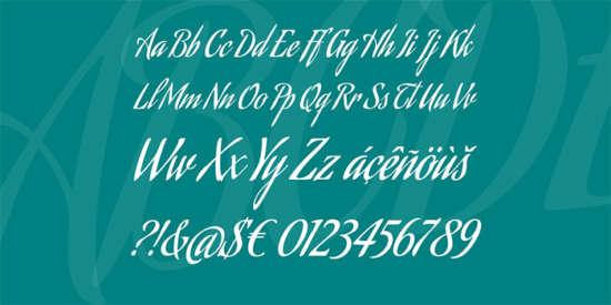 aguafina_cursive_script_font