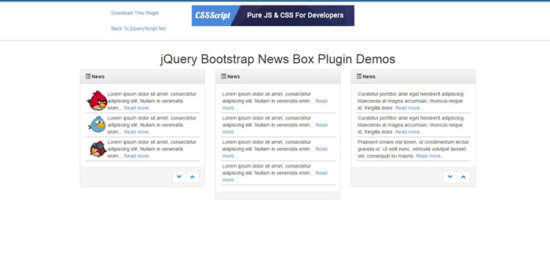 bootstrap_newsbox