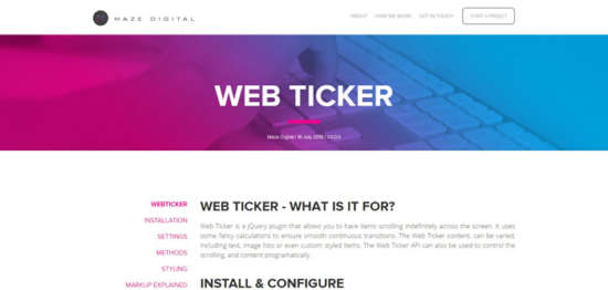 jquery_web_ticker
