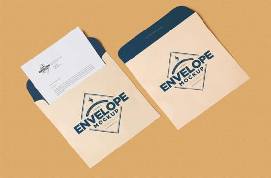 free_unique_squared_shaped_envelope_psd_mockup_letterhead_mockup