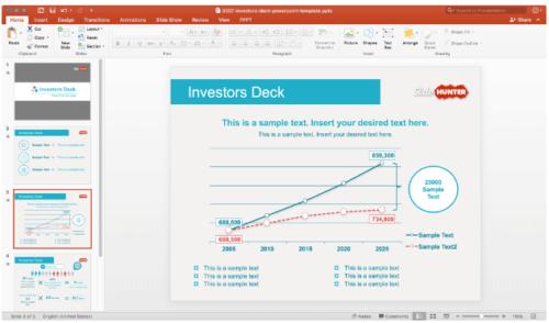 Investors Deck PowerPoint Template
