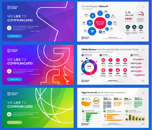 15 free social media presentation powerpoint templates ginva
