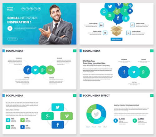 Founder Powerpoint Template