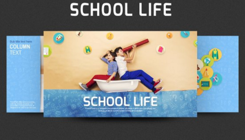 School Life PPT Template