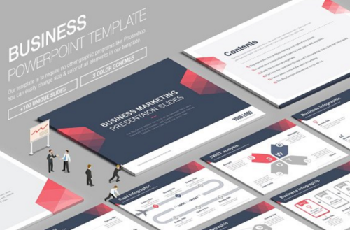 Business PPT Powerpoint Template