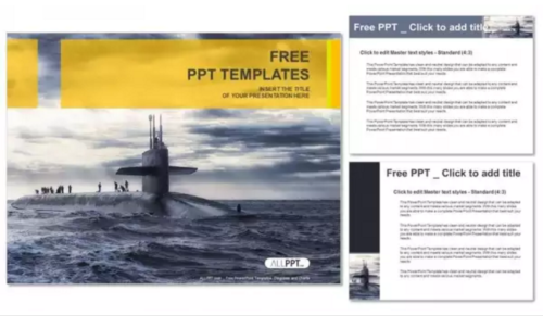 Submarine PowerPoint Templates