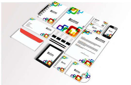 white_corporate_identity_template