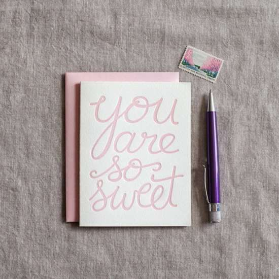 you_are_so_sweet_letterpress_thank_you_card