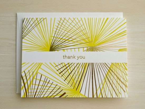 thank_you_card_gold_foil_citron_yellow_letterpress