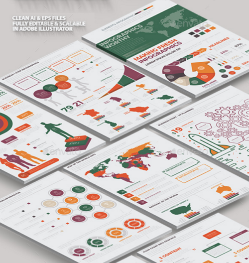 Big Infographics Template Design