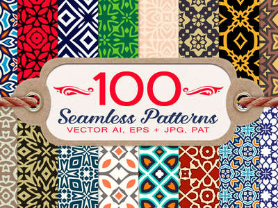 100_decorative_seamless_patterns