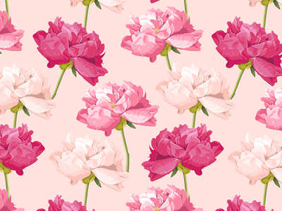 peony_pattern_background