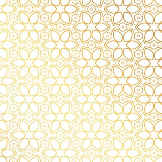 golden_pattern_with_floral_shapes