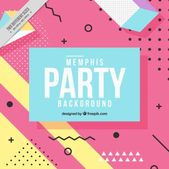 party_background_of_geometric_shapes