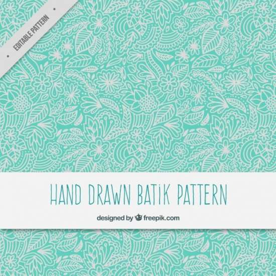 hand_drawn_floral_ornamental_batik_pattern