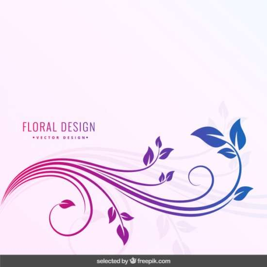 degraded_colors_floral_background
