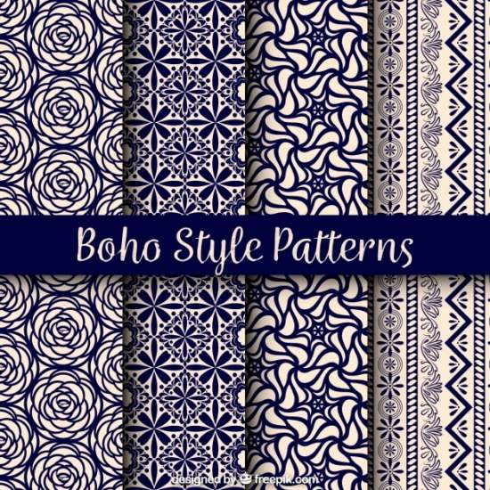 variety_of_boho_patterns_with_beautiful_designs