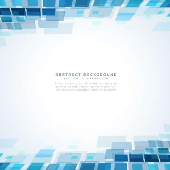blue_square_mosiac_background