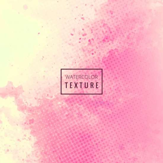 pink_watercolor_grunge_texture_with_dots
