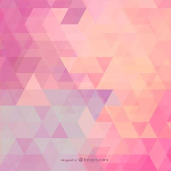 pink_polygonal_background