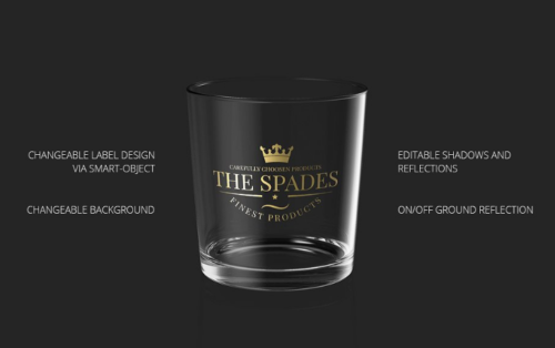 Whiskey Glass Mockup