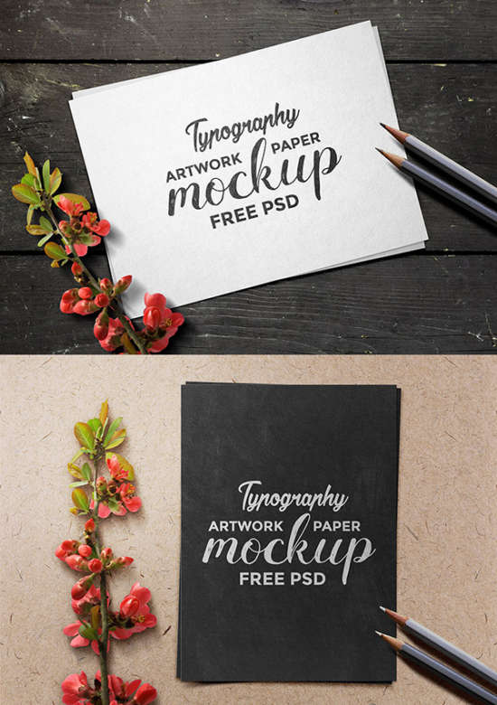 artwork_paper_mockup_psd