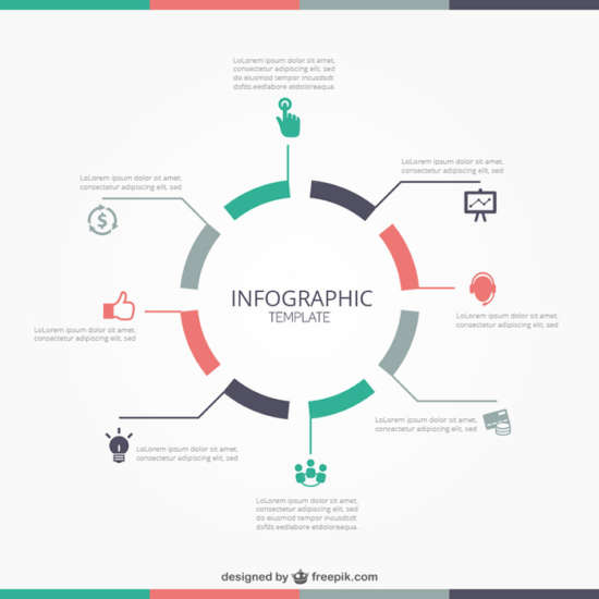 70 free infographic templates psd eps ai ginva round infographic template roundinfographictemplate pronofoot35fo Gallery