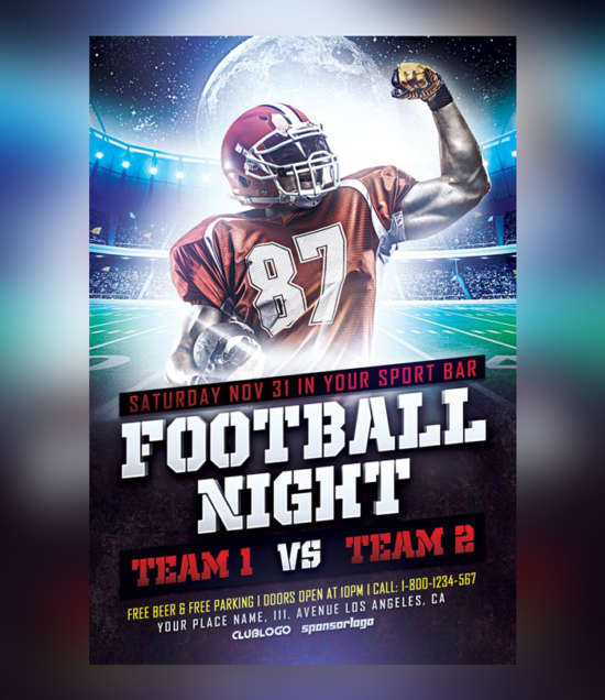 football_sports_flyer_psd_template