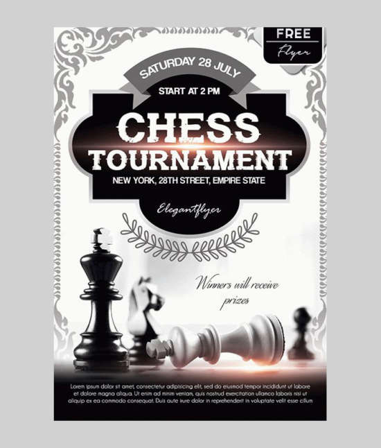 free_chess_tournament_event_flyer