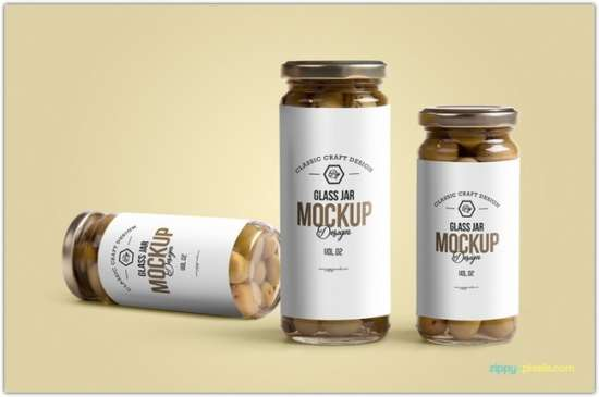 free_glass_jar_mockup